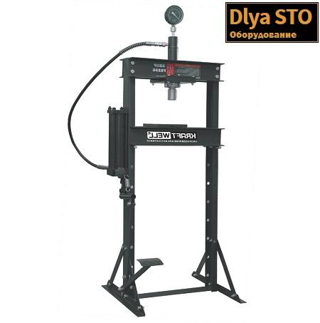 krwpr10f press gidravlicheskij 10 t kraftwell