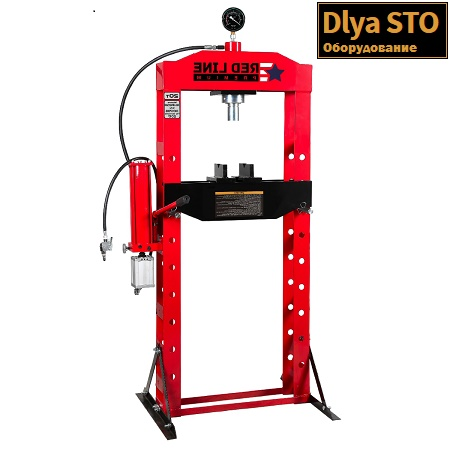 rhp20a press gidravlicheskij 20 t red line premium