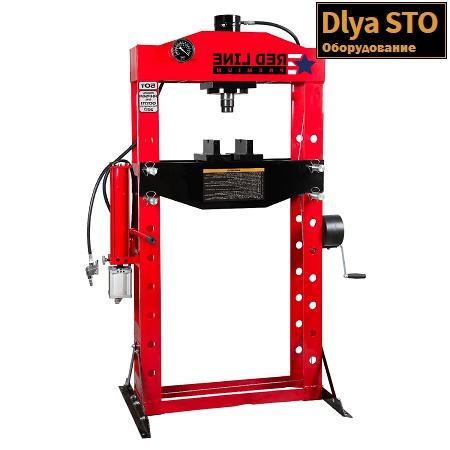 rhp50a press gidravlicheskij 50 t red line premium