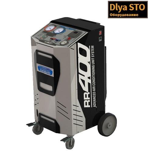 RR400 Автоматическая станция заправки кондиционеров TopAuto