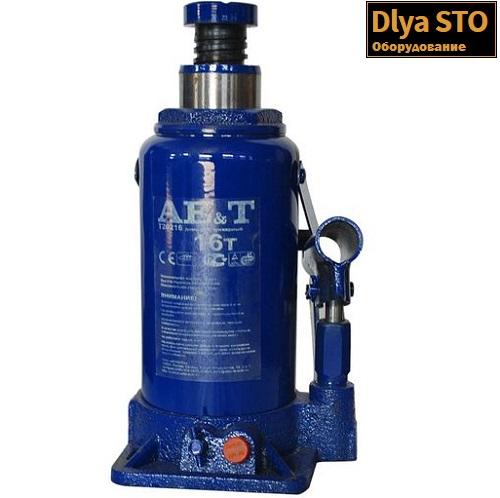 T20216 AE&T Домкрат бутылочный 16 т